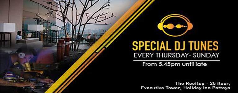 Specials DJ Tunes at Holiday Inn Pattaya
