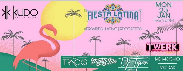 FIESTA LATINA - Twerk Contest at Kudo Beach Club