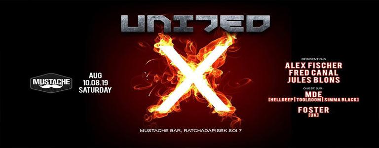 United X at Mustache Bangkok