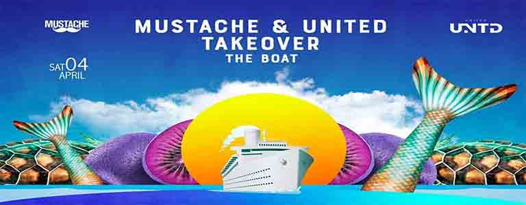 Mustache & United Takeover The Boat - The Return