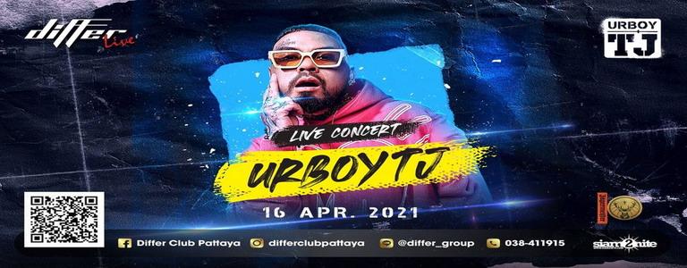 URBOYTJ LIVE CONCERT at Differ Club Pattaya