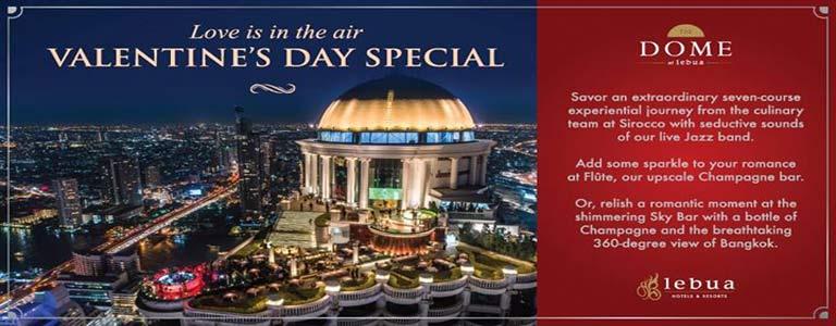 Valentine's Day Special at Sirocco & Sky Bar Bangkok