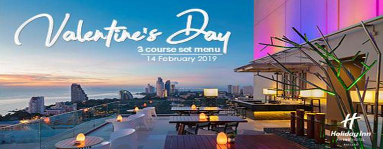 Valentine's Special Day at Holiday Inn Pattaya