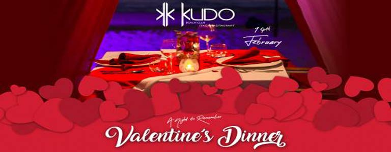 Valentine's Day 2019 at KUDO Beach Club