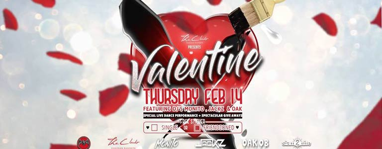 Valentines at The Club Khaosan