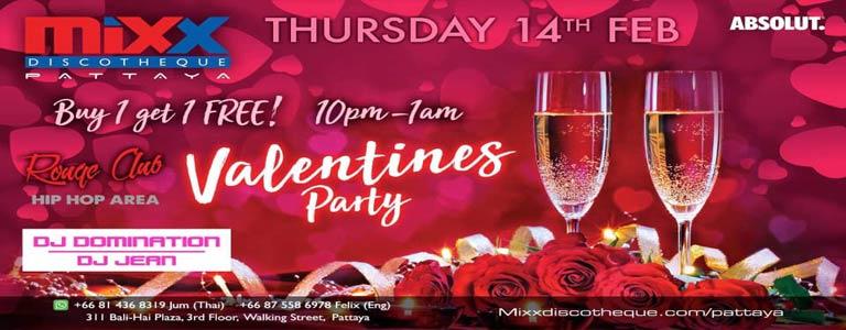 Mixx Valentines Party