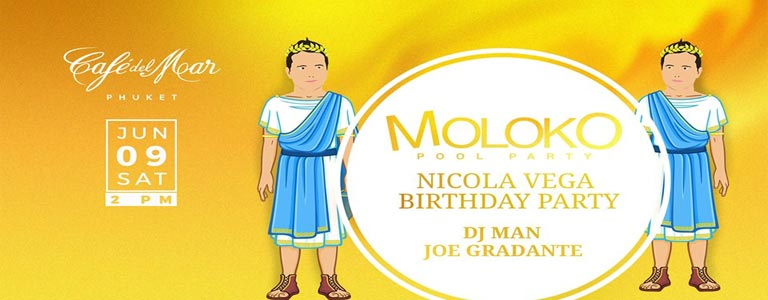Moloko Pool Party feat Nicola Vega B-Day