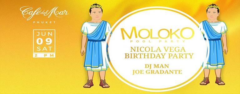 Moloko Pool Party feat Nicola Vega Birthday