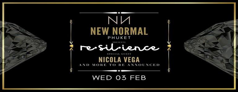Re·sil·ience w/ Nicola Vega & Secret DJ Guests