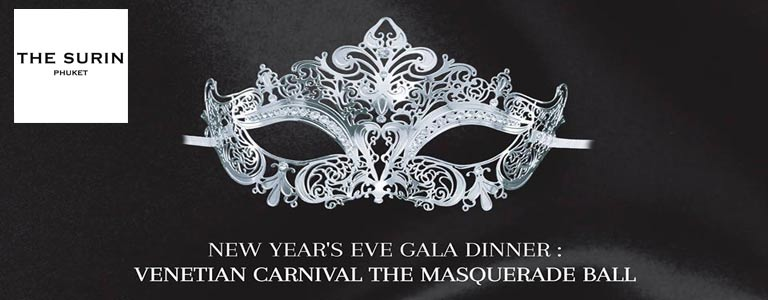 New Year's Eve Gala Dinner: Venetian Carnival