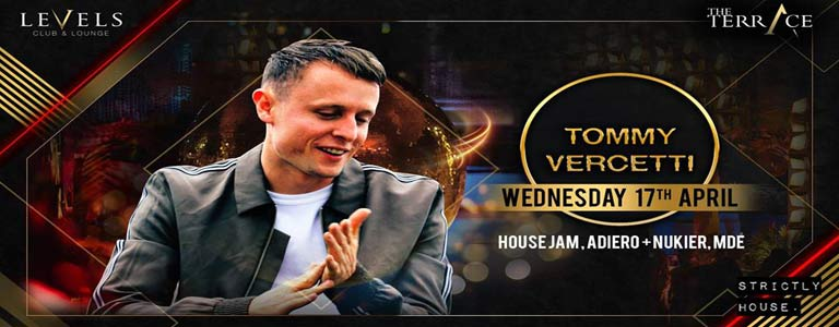 Level presents Tommy Vercetti at The Terrace