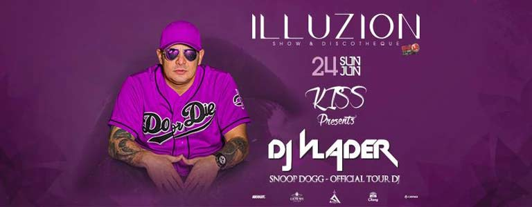 KISS presents DJ Vlader | SNOOP DOGG Official TOUR DJ