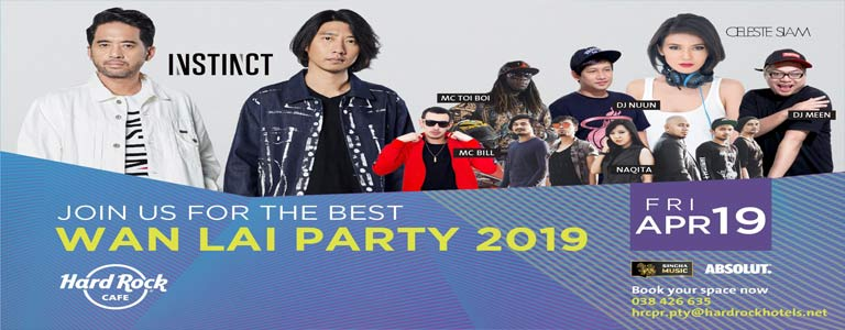 Hard Rock Pattaya pres. Wan Lai Party 2019