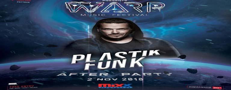 WARP FESTIVAL AFTER PARTY + Plastikfunk live