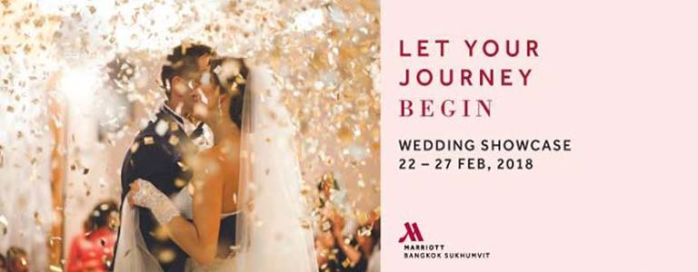 Wedding Showcase 2018 at Marriott Sukhumvit 57