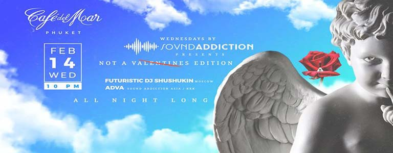 Wednesdays by Sound Addiction at Café del Mar Phuket