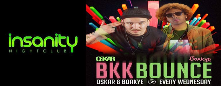 BKK Bounce at Insanity Disco Club Bangkok