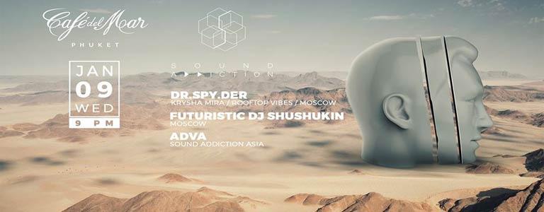 Wednesday by Sound Addiction presents: Dr.Spy.Der