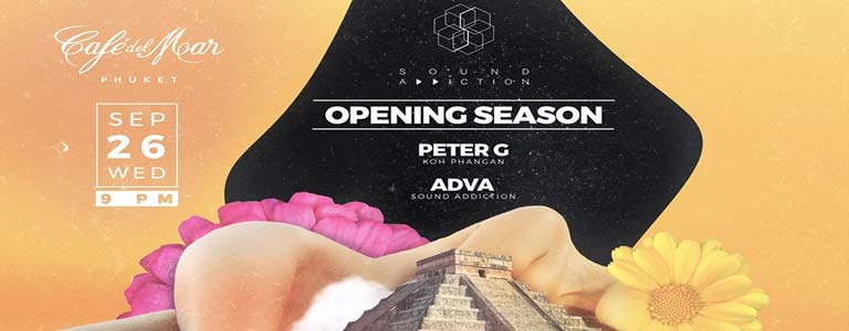 "Wednesday by Sound Addiction ""Opening Season"" with Peter G"