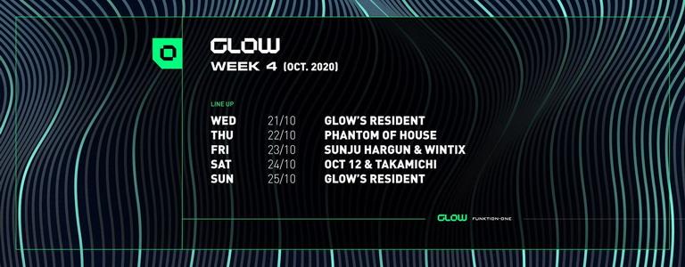 GLOW's Program : October week #4