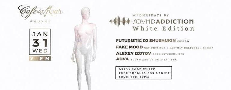 Wednesdays by Sound Addiction : White Edition