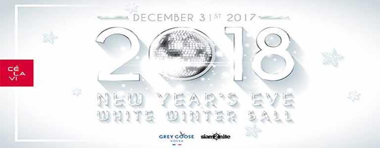 White Winter Ball NYE 2018 at CÉ LA VI