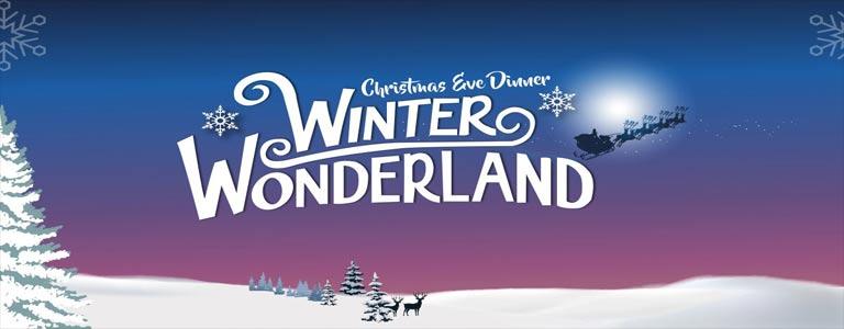 Winter Wonderland Christmas Eve Dinner