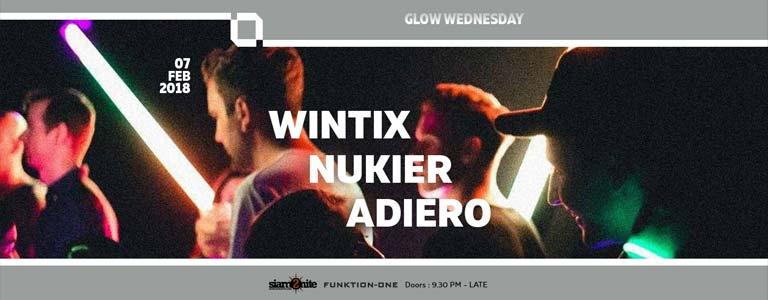 GLOW Wednesday w/ Nukier/ Adiero/ Wintix