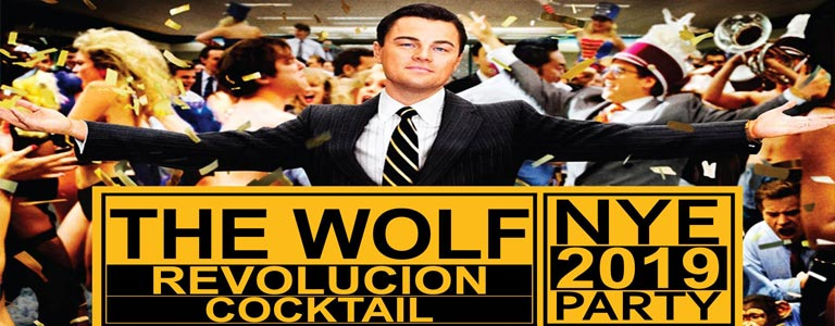 The Wolf - New Year's Eve 2019 at Revolucion Cocktail Bangkok