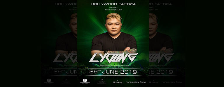 Hollywood Pattaya present DJ.L Young