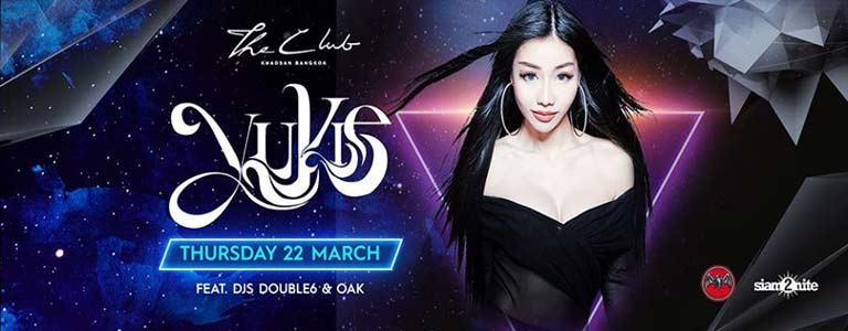 The Club Khaosan presents Dj Yukie