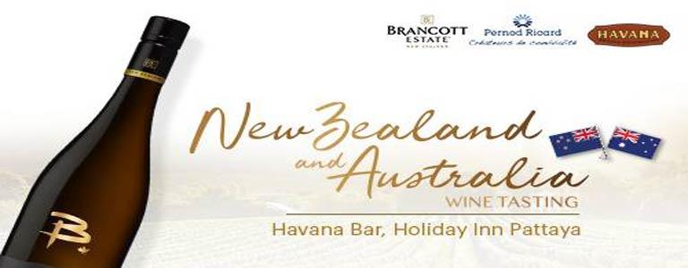 New Zealand and Australia Wine Tasting
