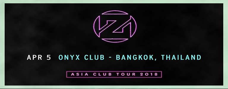 Zedd- Asia Club Tour 2018 at Onyx Bkk