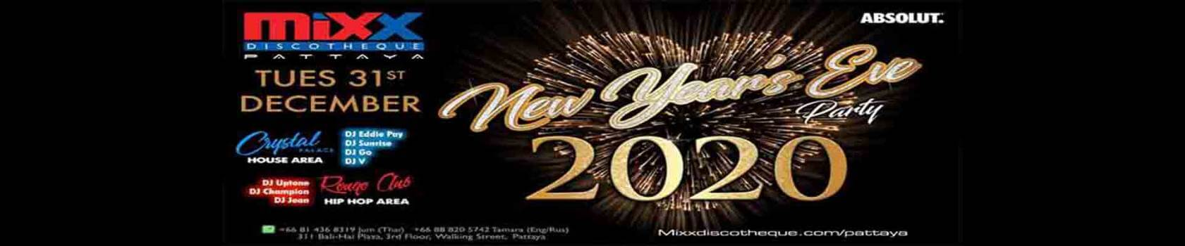 Mixx New Years Eve Party 2020