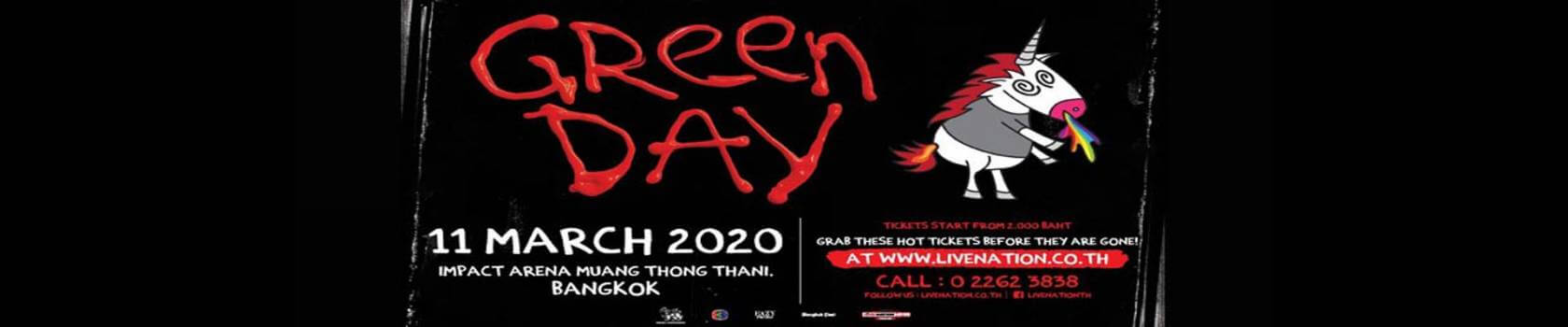 Green Day Live in Bangkok 2020