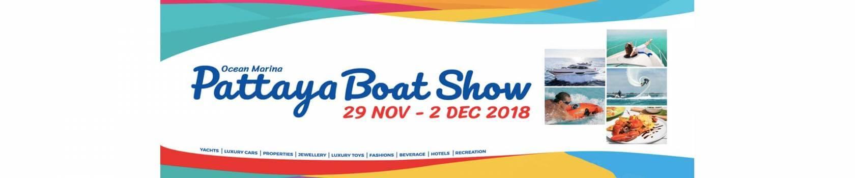 Ocean Marina Pattaya Boat Show 2018