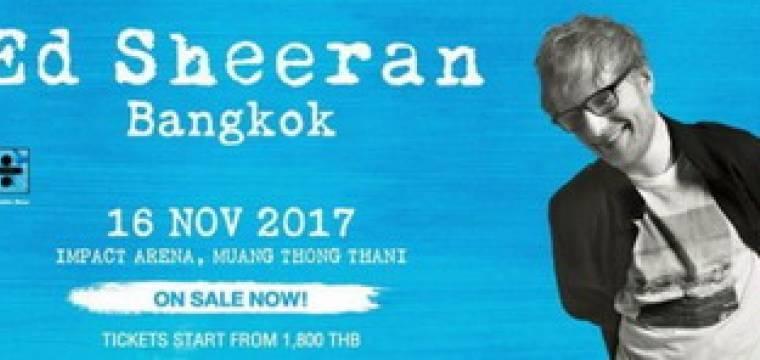 Ed Sheeran Live in Bangkok