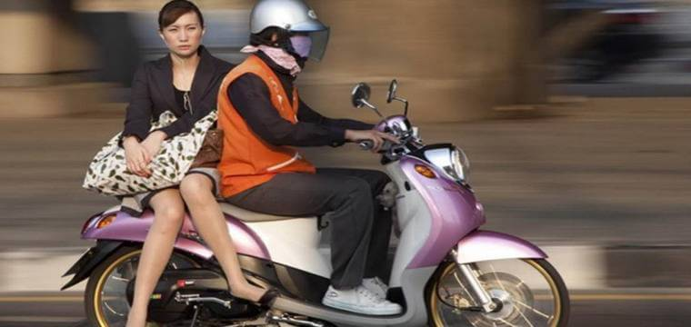How to Use Motorbike Taxi in Bangkok