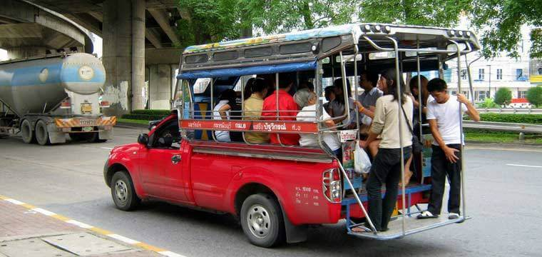 How to Use Songthaew in Bangkok