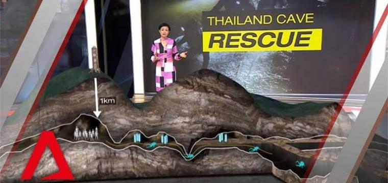 Thailand Cave Boy Rescue Live