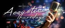 Acoustic Thursdays at Octave Rooftop Lounge & Bar