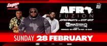 Sugar Pres. AfroFuzion with DJ Master D