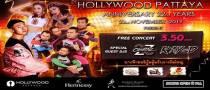 Hollywood Pattaya Anniversary 22nd Years