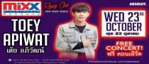 Mixx Ladiesnight presents TOEY APIWAT