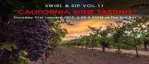 "Swirl & Sip Vol.11 ""California Wine Tasting"""