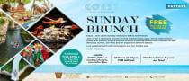 Sunday Brunch at Coast Beach Club & Bistro