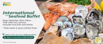 International and Seafood Buffet at Holiday Inn Pattaya
