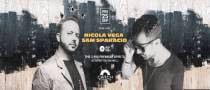 Nicola Vega & Sam Sparacio at Catch Beach Club