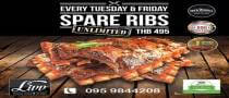 Unlimited Spare Ribs at Livv