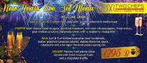 New Year's Eve at @Two Chefs Bar & Grill